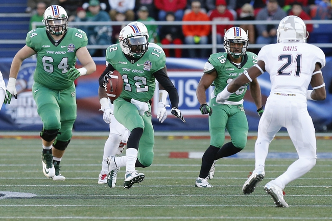 Akron Zips vs. Marshall Thundering Herd Pick-Odds-Prediction - 9/20/14
