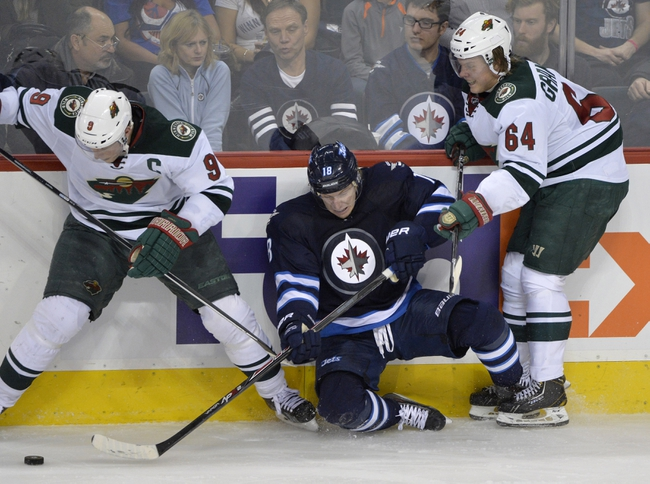 Winnipeg Jets vs. Minnesota Wild - 4/7/14
