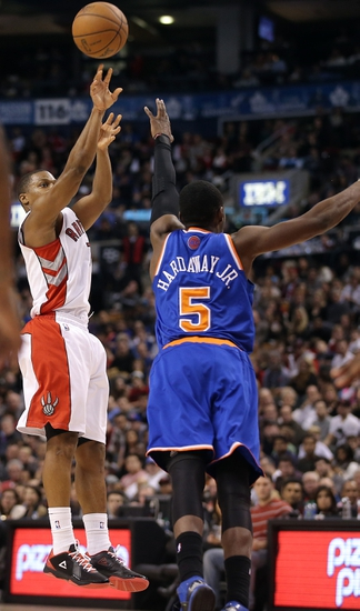 Toronto Raptors vs. New York Knicks - 4/11/14