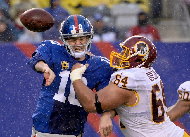 Fantasy Football 2014: Giants at Redskins 9/25/14 Week 4 Preview