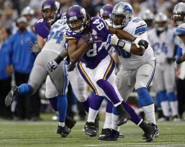 Minnesota Vikings vs. Detroit Lions 10/12/14 NFL Pick, Odds, Prediction