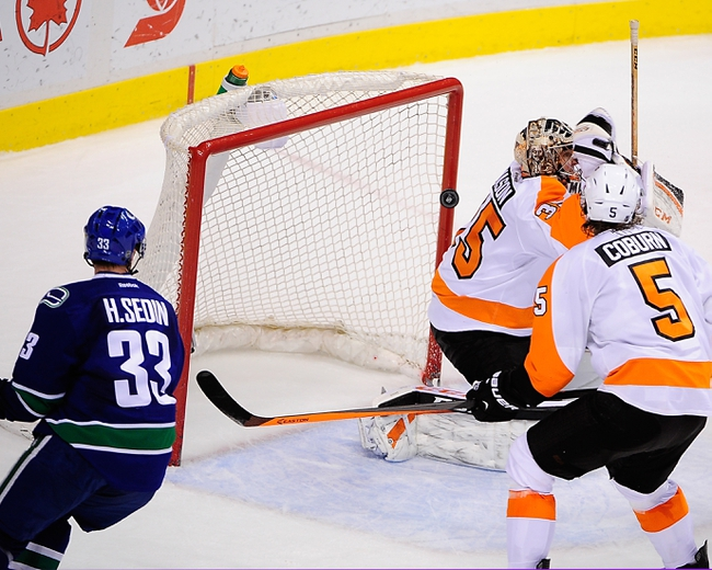 Philadelphia Flyers vs. Vancouver Canucks - 1/15/15 NHL Pick, Odds, and Prediction
