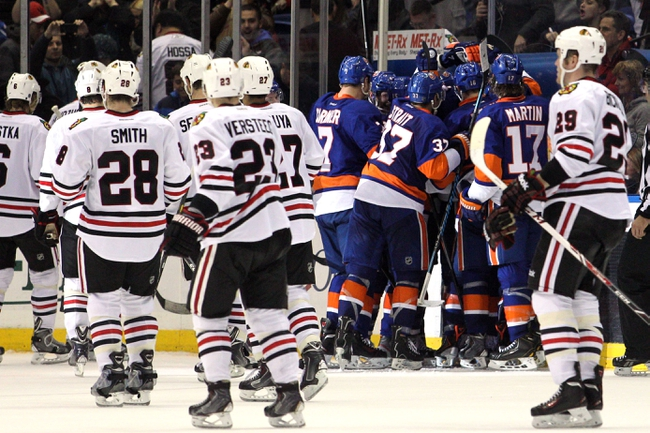 Islanders vs. Blackhawks - 12/13/14 NHL Pick, Odds, and Prediction