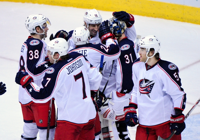 Columbus Blue Jackets vs. Phoenix Coyotes Pick-Odds-Prediction - 4/8/14