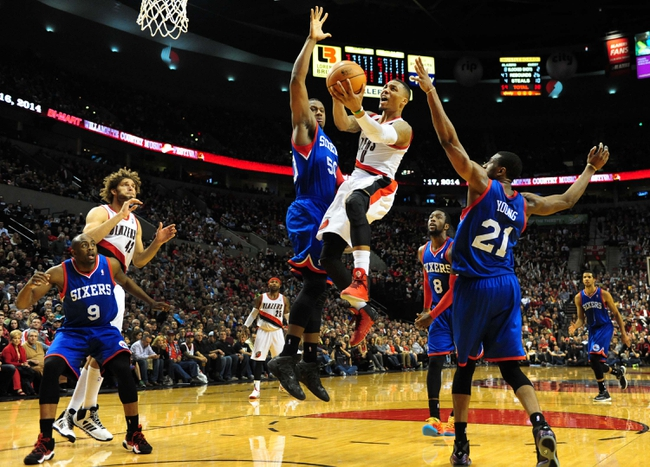 76ers vs. Trail Blazers - 11/24/14 NBA Pick, Odds, and Prediction