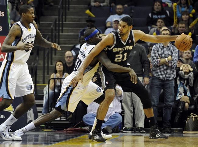 San Antonio Spurs vs. Memphis Grizzlies - 4/6/14