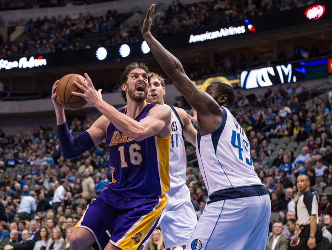 Los Angeles Lakers vs. Dallas Mavericks - 4/4/14
