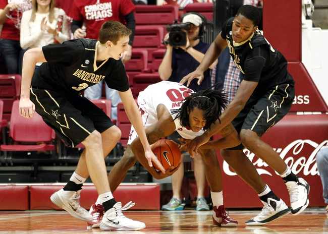 Alabama vs. Vanderbilt - 2/14/15 College Basketball Pick, Odds, and Prediction