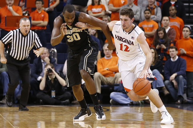 Wake Forest at Virginia - 2/14/15 College Basketball Pick, Odds, and Prediction