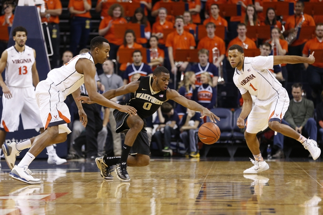 Virginia vs. Wake Forest - 2/14/15 College Basketball Pick, Odds, and Prediction