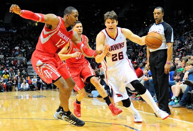 Rockets vs. Hawks - 12/20/14 NBA Pick, Odds, and Prediction