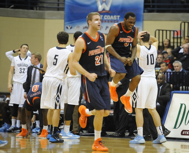 Pepperdine vs. South Alabama - 12/15/14 College Basketball Pick, Odds, and Prediction