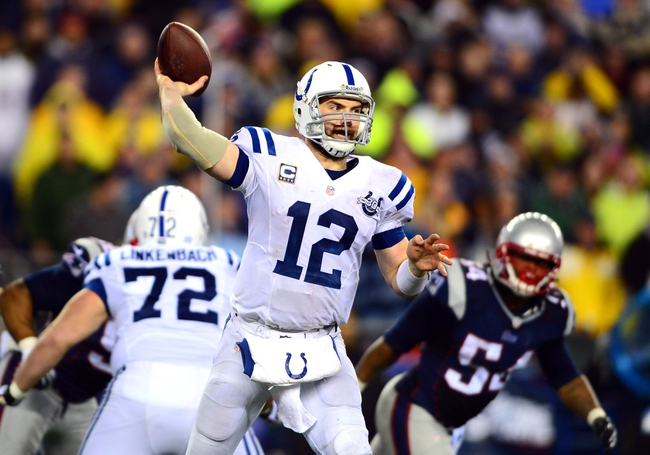 Fantasy Football 2014: Patriots at Colts 11/16/14 Week 11 Preview
