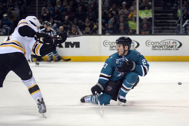 Boston Bruins vs. San Jose Sharks - 10/21/14 NHL Pick, Odds, Prediction