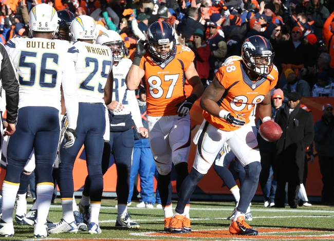 Broncos vs. Chargers - 10/23/14 NFL Pick, Odds, Prediction