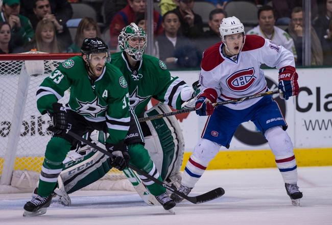 Stars vs. Canadiens - 12/6/14 NHL Pick, Odds, and Prediction