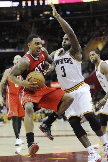 Atlanta Hawks vs. Cleveland Cavaliers - 4/4/14