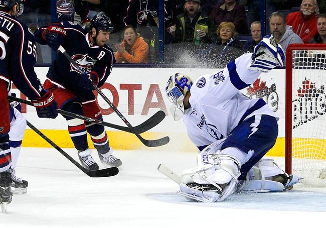 Columbus Blue Jackets vs. Tampa Bay Lightning - 12/14/15 NHL Pick, Odds, and Prediction