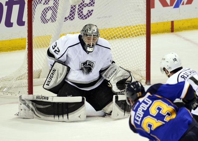 Los Angeles Kings vs. St. Louis Blues - 10/16/14