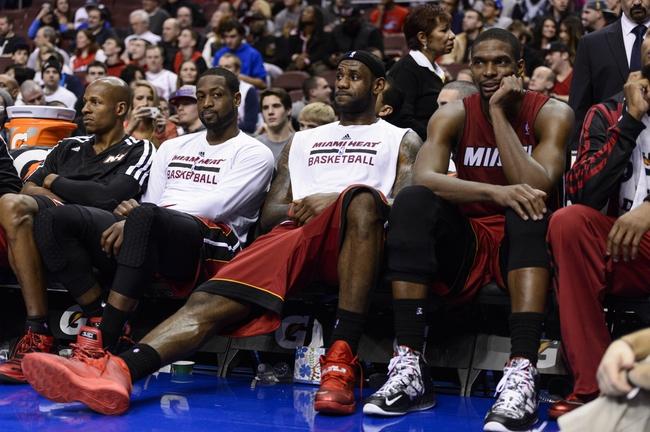 Miami Heat vs. Philadelphia 76ers NBA Pick, Odds, Prediction 4/16/14