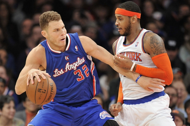 Clippers vs. Knicks - 12/31/14 NBA Pick, Odds, and Prediction