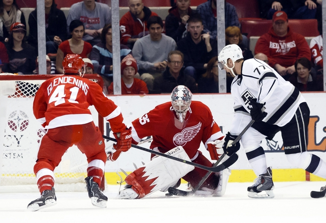 Detroit Red Wings vs. Los Angeles Kings - 10/31/14 NHL Pick, Odds, and Prediction