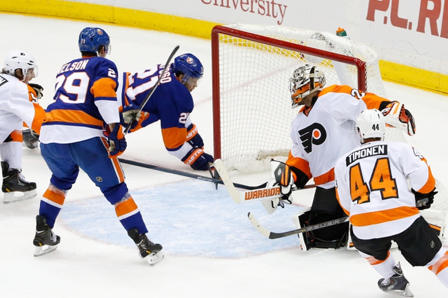 Islanders vs. Flyers - 11/24/14 NHL Pick, Odds, and Prediction