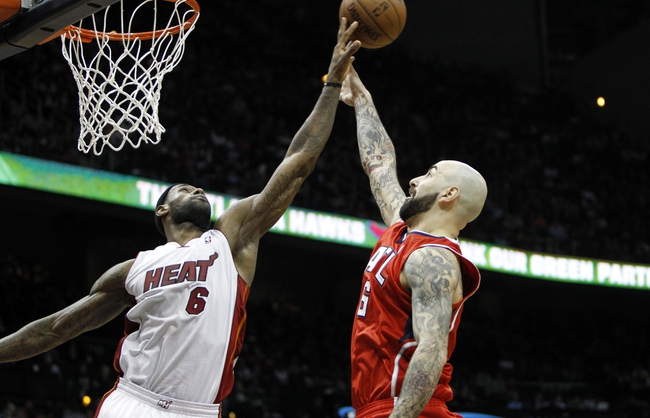 Atlanta Hawks vs. Miami Heat - 4/12/14