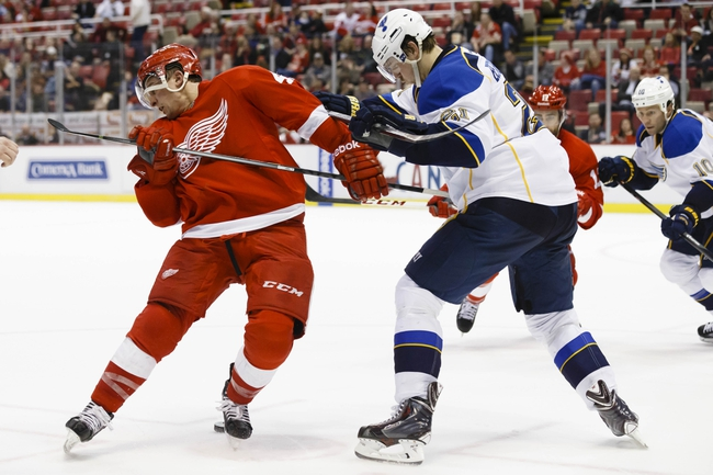 St. Louis Blues vs. Detroit Red Wings - 4/13/14