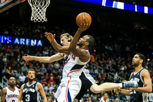 San Antonio Spurs vs. Atlanta Hawks 10/22/14 NBA Preseason Pick, Odds, Prediction