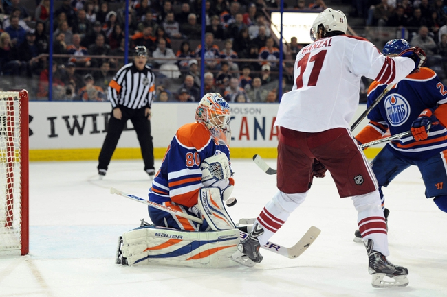Phoenix Coyotes vs. Edmonton Oilers Pick-Odds-Prediction - 4/4/14