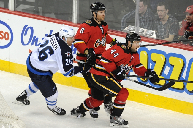 Calgary Flames vs. Winnipeg Jets - 4/11/14