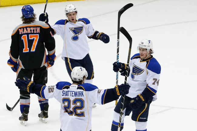 Islanders vs. Blues - 12/6/14 NHL Pick, Odds, and Prediction
