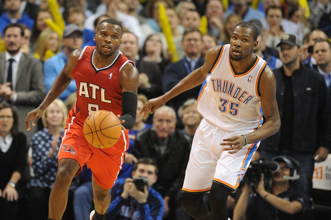 Hawks vs. Thunder - 1/23/15 NBA Pick, Odds, and Prediction