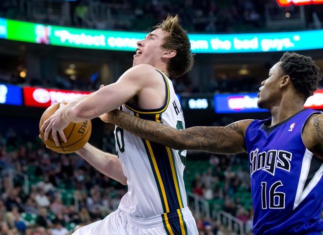 Sacramento Kings vs. Utah Jazz - 12/8/14 NBA Pick, Odds, and Prediction