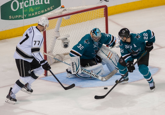 San Jose Sharks vs. Los Angeles Kings - 4/3/14