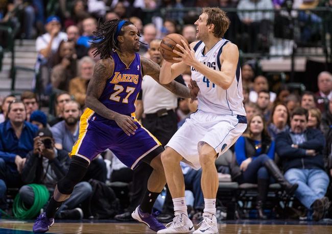 Dallas Mavericks vs. Los Angeles Lakers - 11/21/14 NBA Pick, Odds, and Prediction
