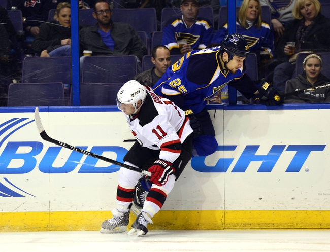New Jersey Devils vs. St. Louis Blues - 11/4/14 NHL Pick, Odds, and Prediction