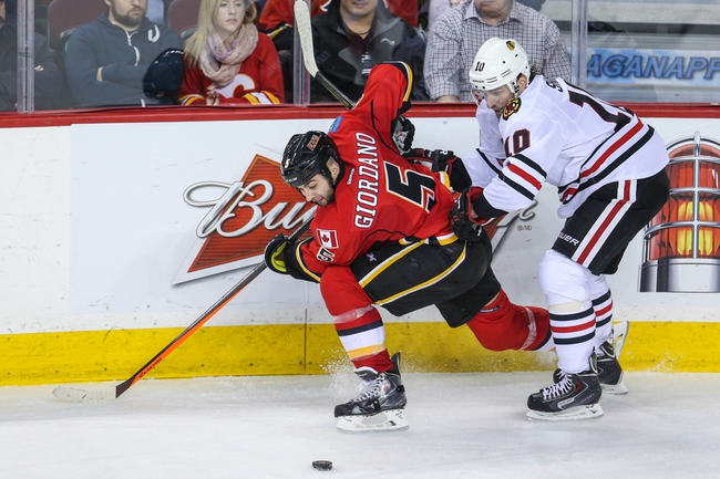Chicago Blackhawks vs. Calgary Flames - 10/15/14 NHL Pick, Odds, Prediction