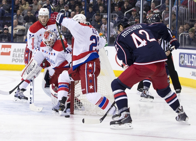 Capitals vs. Blue Jackets - 11/11/14 NHL Pick, Odds, and Prediction