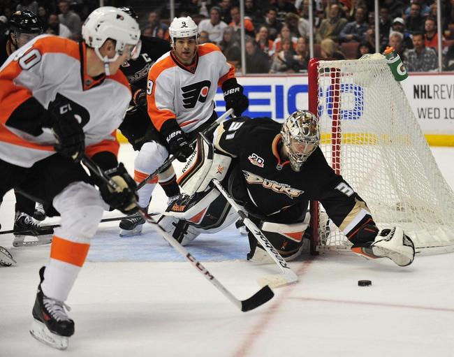 Philadelphia Flyers vs. Anaheim Ducks Pick-Odds-Prediction - 10/14/14