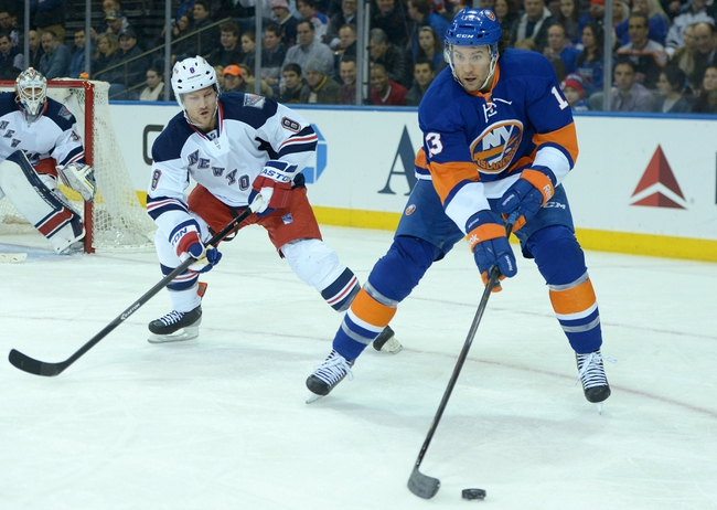 New York Rangers vs. New York Islanders - 10/14/14