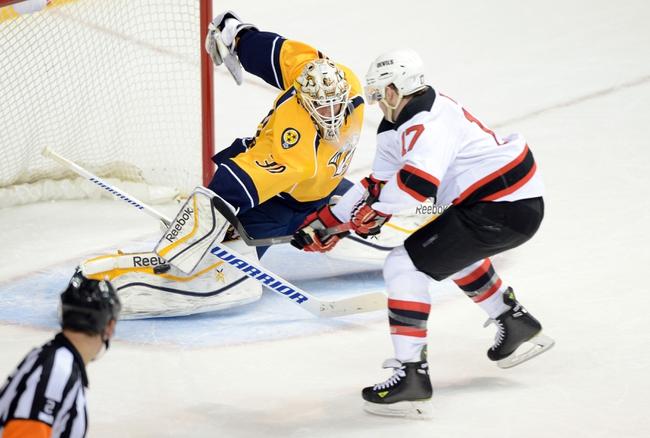New Jersey Devils vs. Nashville Predators - 3/3/15 NHL Pick, Odds, and Prediction