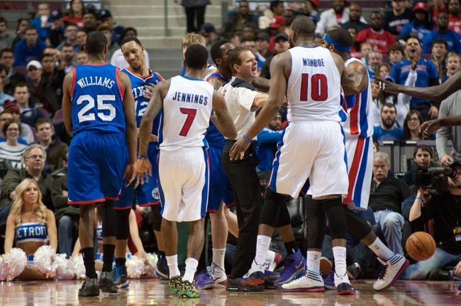 Detroit Pistons vs. Philadelphia 76ers 10/23/14 NBA Preseason Pick, Odds, Prediction