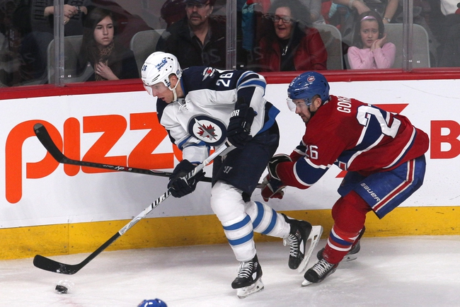 Canadiens vs. Jets - 11/11/14 NHL Pick, Odds, and Prediction