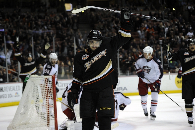 Columbus Blue Jackets vs. Anaheim Ducks - 3/24/15 NHL Pick, Odds, and Prediction
