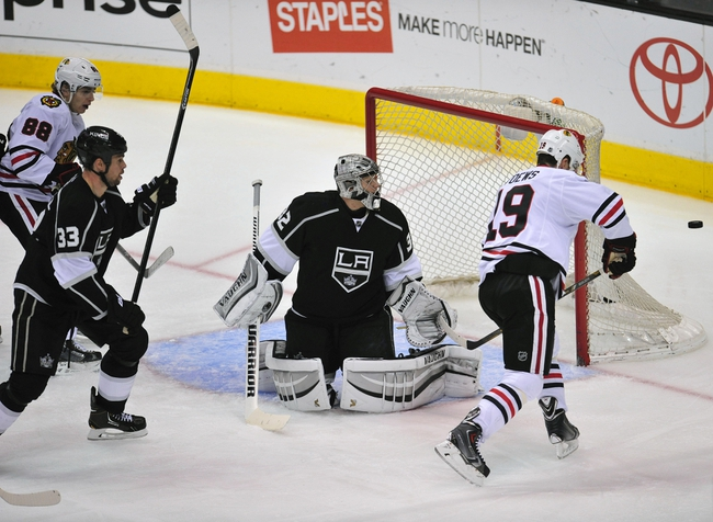 Los Angeles Kings at Chicago Blackhawks NHL Pick, Odds, Prediction - 5/18/14 Game One