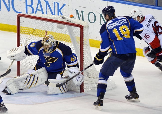 Senators vs. Blues - 11/22/14 NHL Pick, Odds, and Prediction