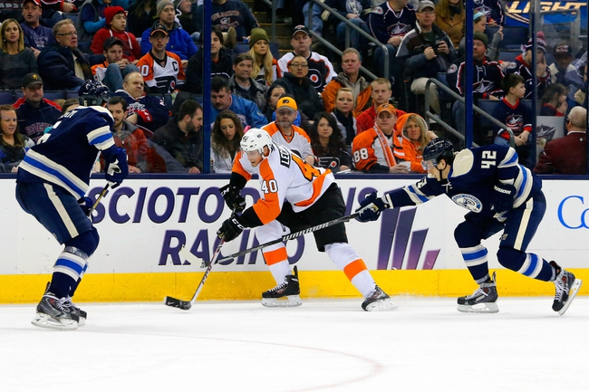Philadelphia Flyers vs. Columbus Blue Jackets Pick-Odds-Prediction - 4/3/14