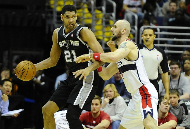 Spurs vs. Wizards - 1/3/15 NBA Pick, Odds, and Prediction